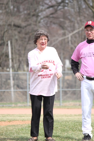 Baseball Striking Out Cancer - Photo 17