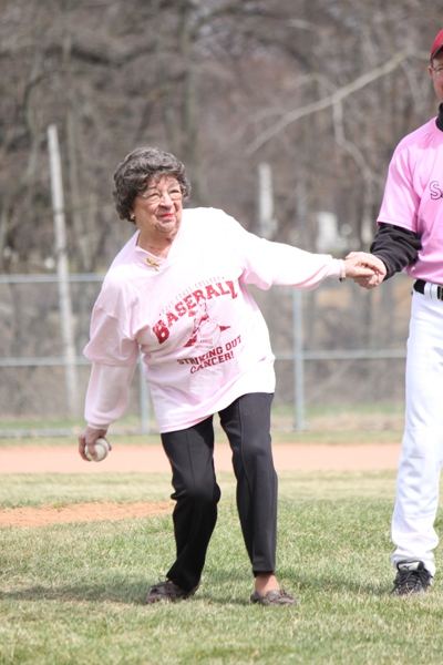 Baseball Striking Out Cancer - Photo 18