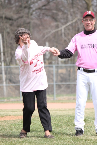 Baseball Striking Out Cancer - Photo 19