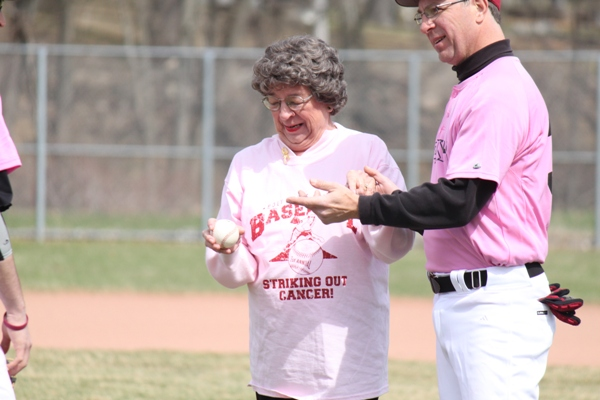 Baseball Striking Out Cancer - Photo 21