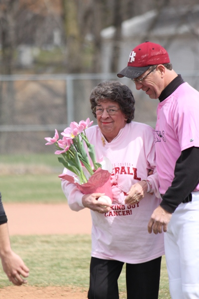 Baseball Striking Out Cancer - Photo 22