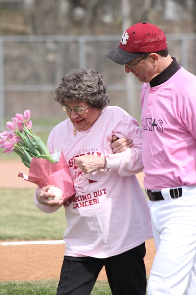 Baseball Striking Out Cancer - Photo 23