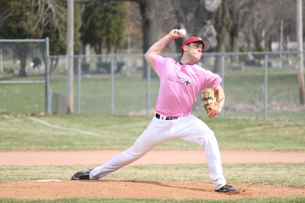 Baseball Striking Out Cancer - Photo 27