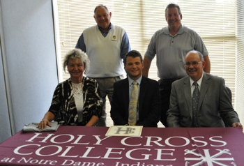 Christopher Noble Signs with Holy Cross