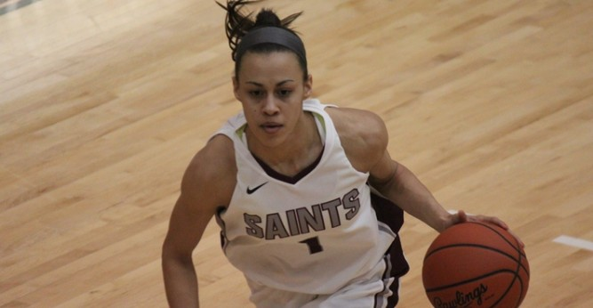 Stellar offense propels Saints to 84-78 victory over Trinity International