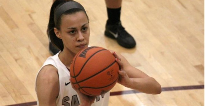 Lindsey Steffen fell 1 point shy of a triple-double in the Saints loss at St. Francis