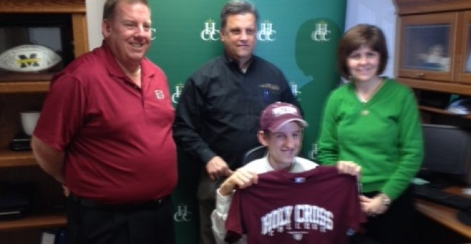 Ted Rider signs with Saints golf for upcoming season