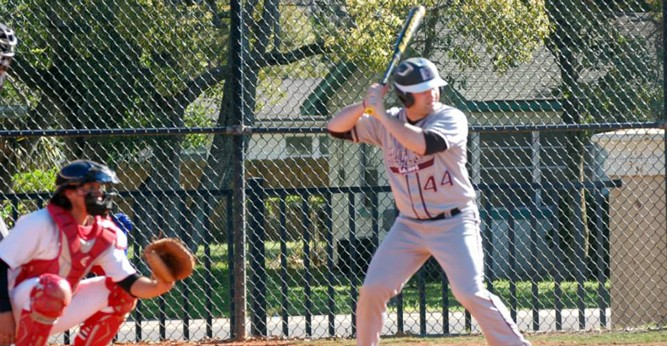 Ben Bournay picked up a pair of hits in the Saints loss at Chicago State Thursday night