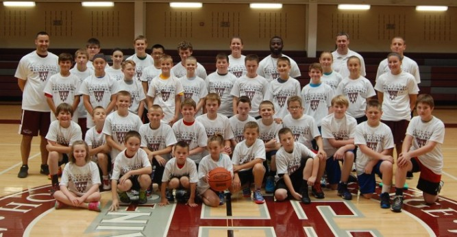 Saints Basketball Camp Concludes Today