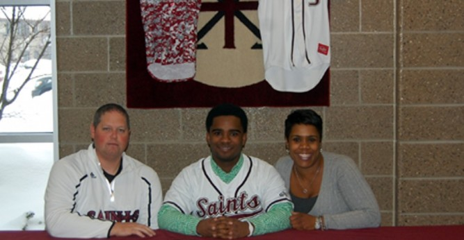 Justin Reaves (above) and Maris Marazita (below) have signed to play for the Saints beginning in 2015