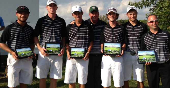 The Saints brought home their first team championship of the fall season at the Country Oaks Invitational
