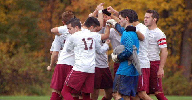 Despite the loss, the Saints head to the CCAC playoffs for the second consecutive season