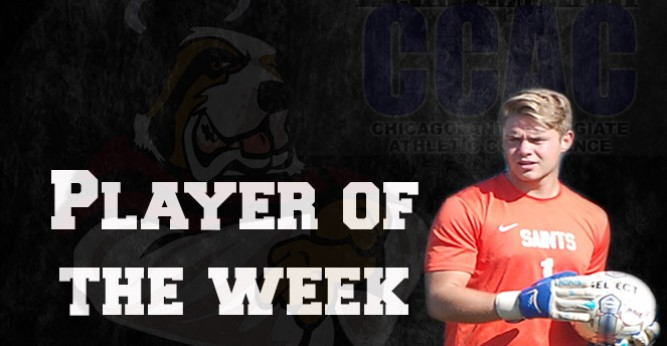 Aldrich named CCAC Defensive Player of the Week