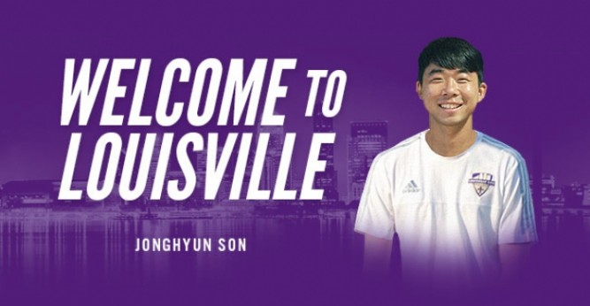 Jonghyun Son signs with Louisville City FC
