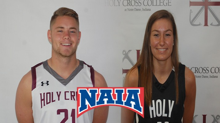Photo for Schultheis and Aldrich Named Daktronics-NAIA Scholar Athletes