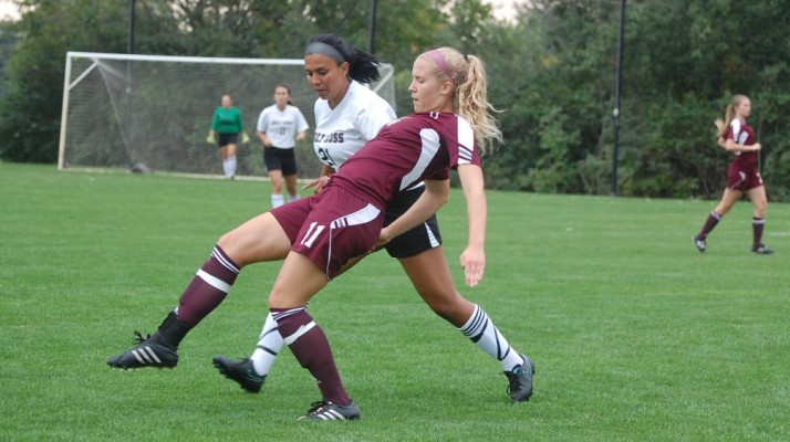 Photo for Sanchez Scores First Goal in Loss to Robert Morris
