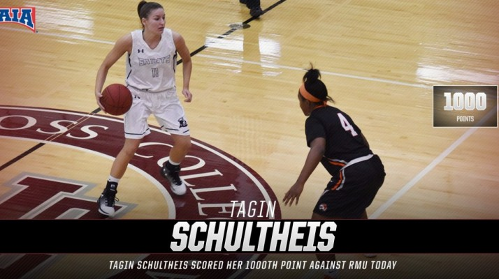 Photo for Schultheis Scores 1000th Point in Loss to Robert Morris