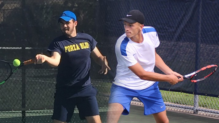 Photo for Ryan Rogers and Mac Flannery Sign with Men's Tennis Program