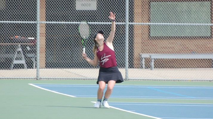 Photo for Women's Tennis Falls to Lancers