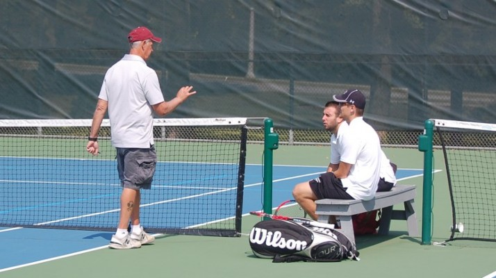 Photo for Men's Tennis Wins Second Straight