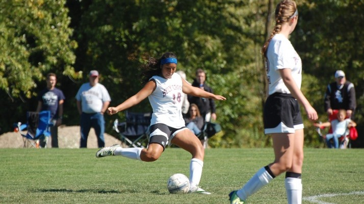 Photo for Women's Soccer Stumbles on the Road