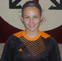 Junior goalkeeper Aileen Clouse recorded a season high 21 saves in the loss to Aquinas College Monday evening.